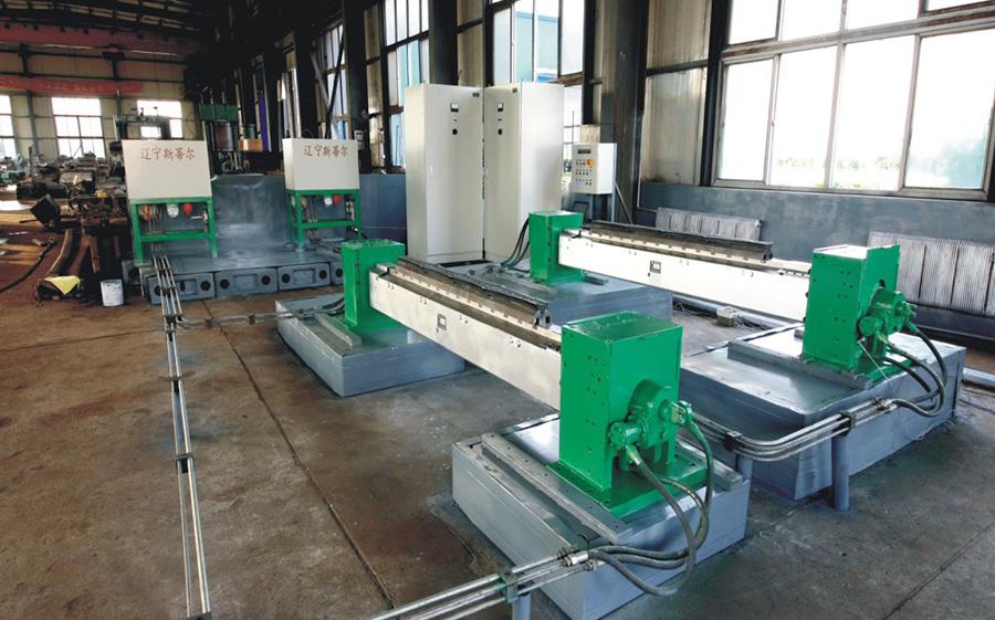 Sawtooth deburring machine